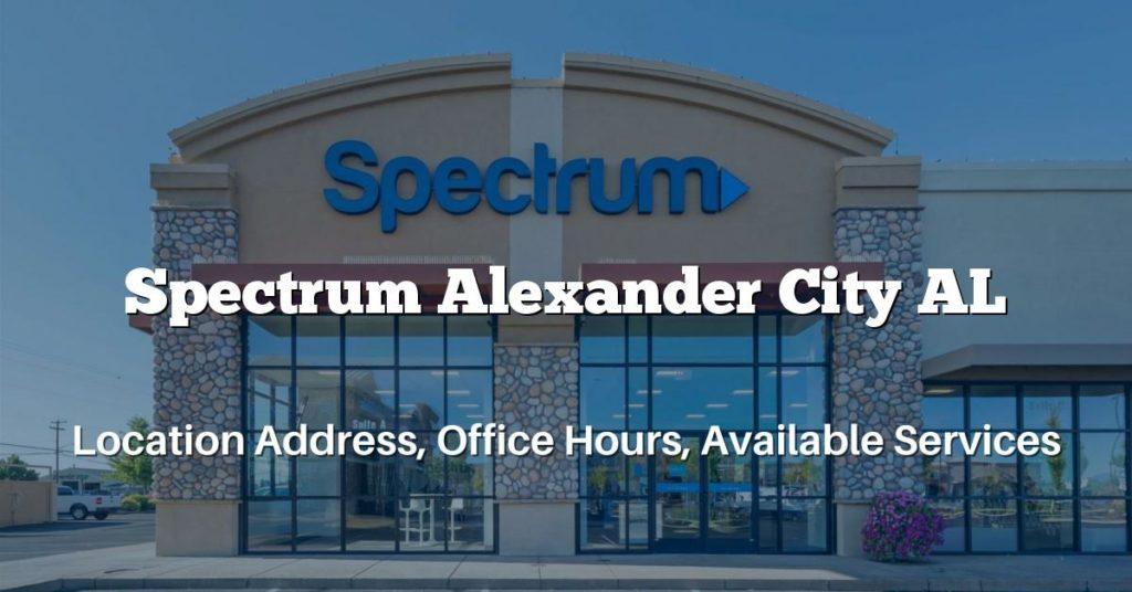 Spectrum Alexander City AL